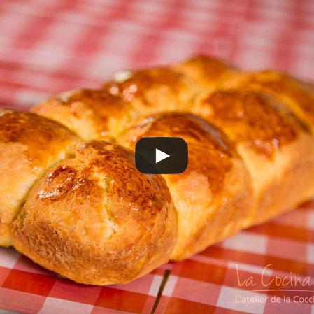 Pan brioche francés