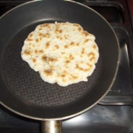Pan en sartén