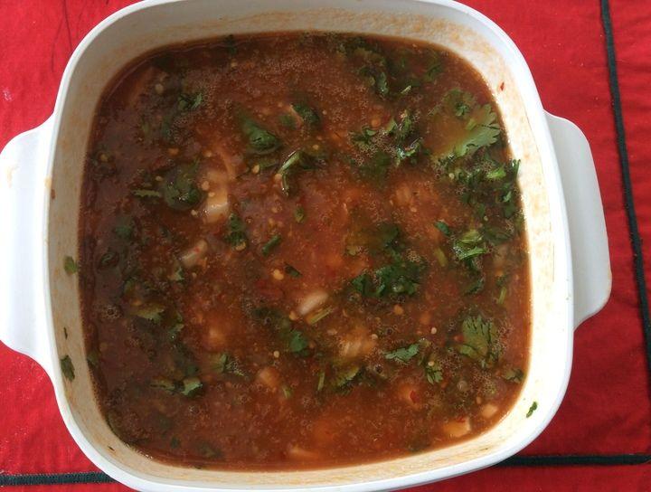 Salsa de jitomate y tomatillo