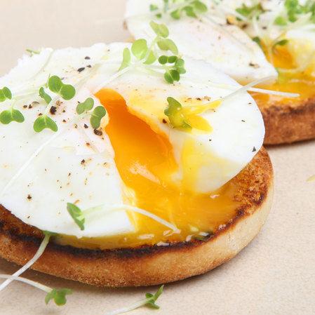 Muffins de huevo y tocino
