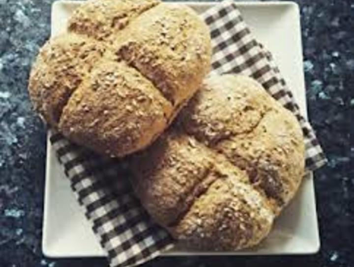 Pan integral sin levadura