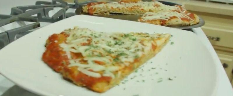 Pizza naturista sin levadura