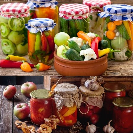 Encurtido de vegetales o frutas