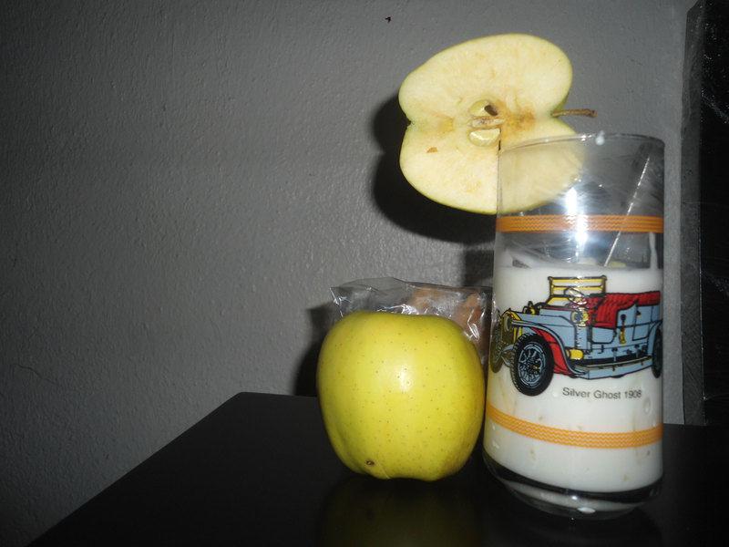 yogurt de manzana