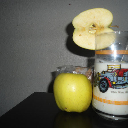 yogurt de manzana