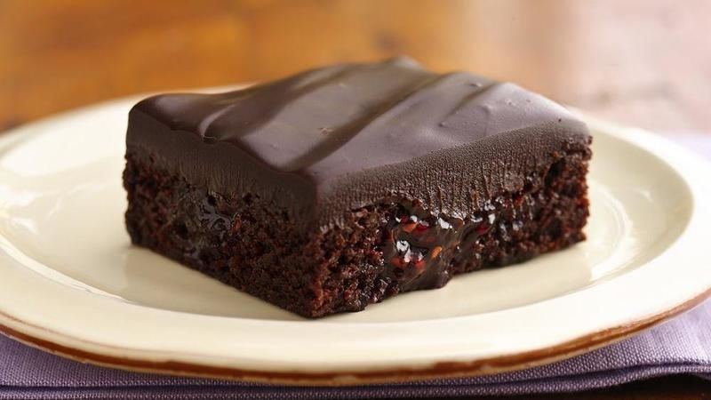Brownies con ganache