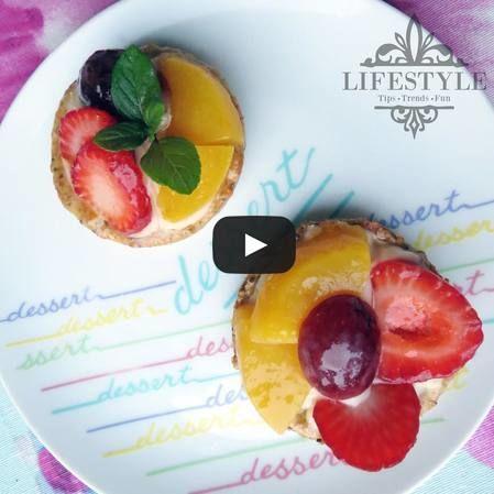 Mini tartaletas de frutas