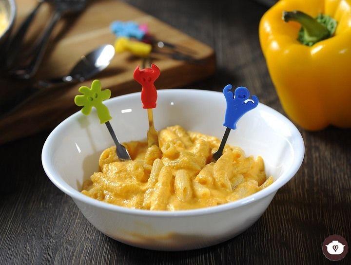Sopa de pasta con queso
