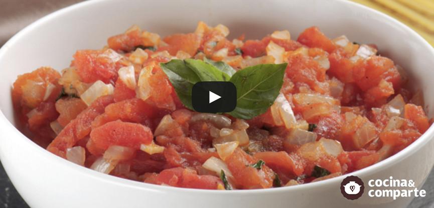 Salsa italiana de tomate