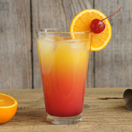 Tequila Sunrise - Cócteles con tequila