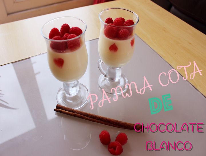 Panna Cotta de Chocolate Blanco