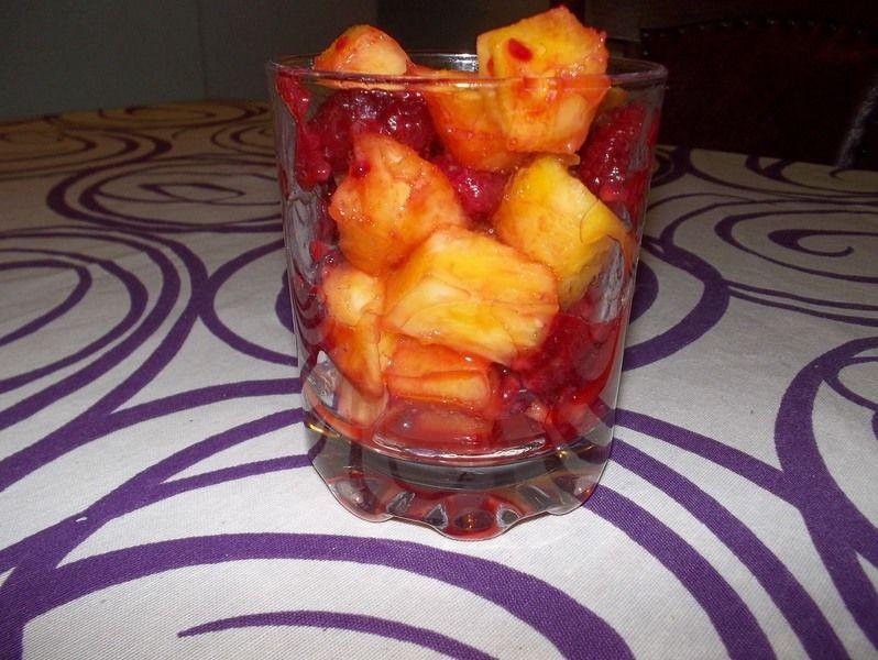 Coctel de frutos de verano
