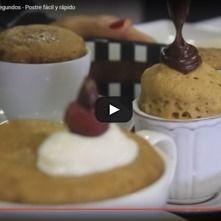Pasteles en microondas
