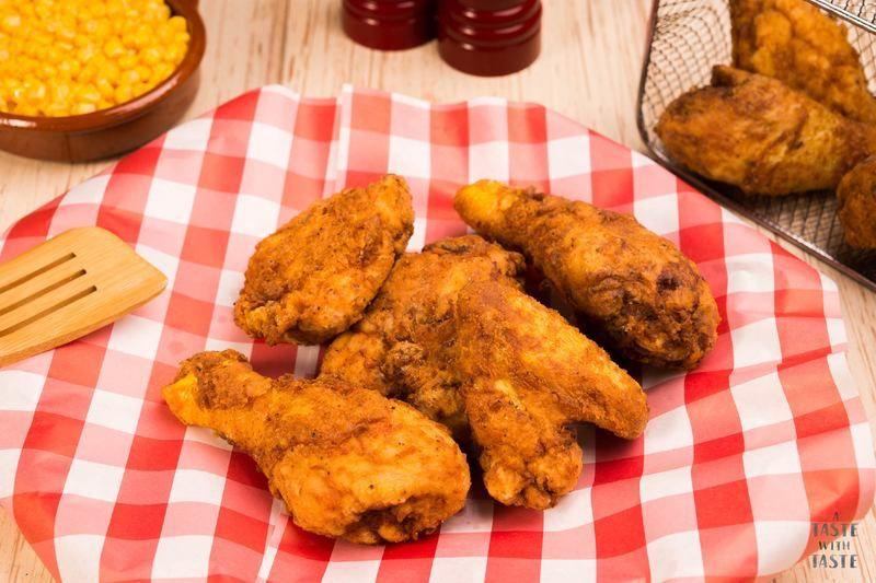 Pollo estilo americano