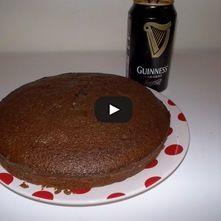 Pastel de Cerveza Guinness