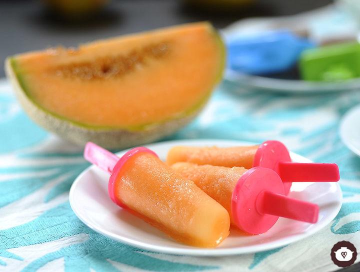 Paletas de melón