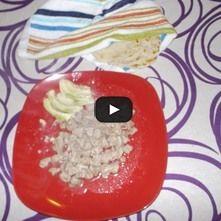 Carne con ajos