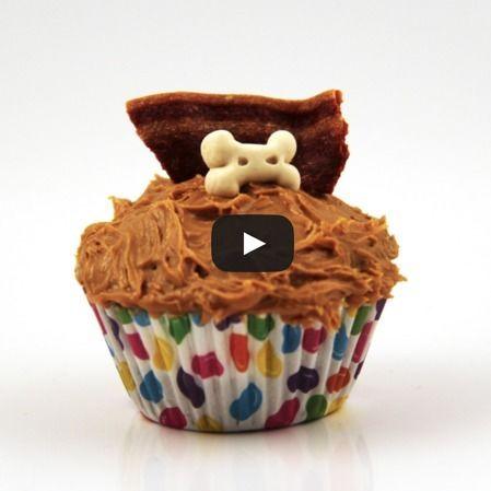 Cupcake de Zanahoria para perro