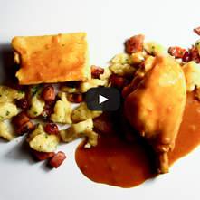 Pollo en salsa de Páprika