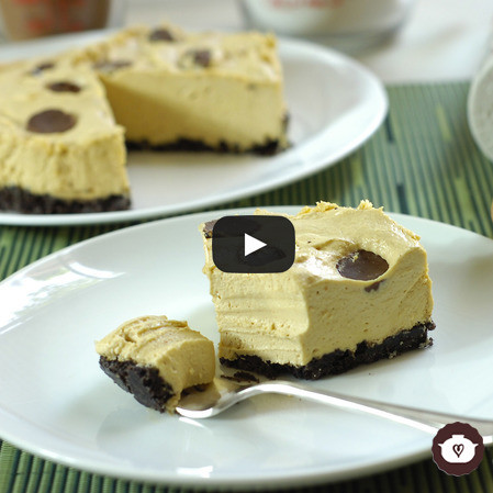 Cheese cake de mantequilla de cacahuate