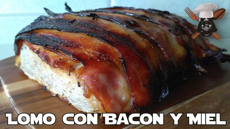 Lomo con Bacon y Miel