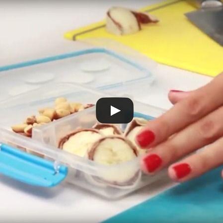 Sushi roll de plátano con nutella