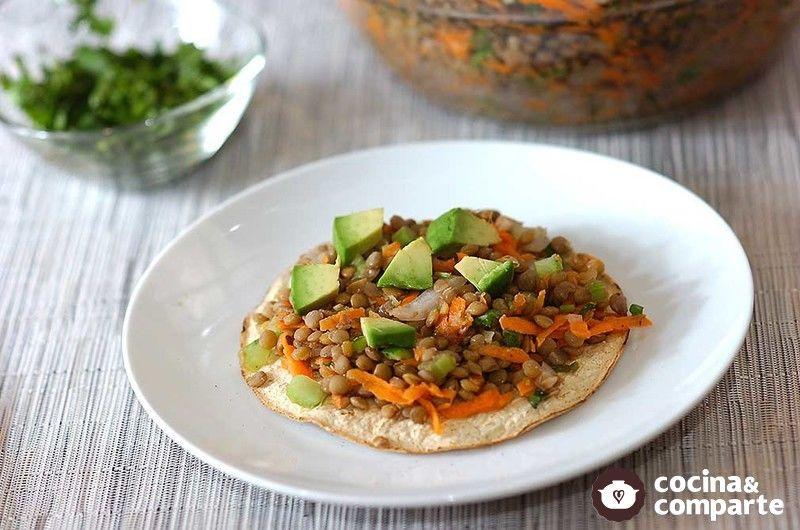Receta ceviche de lentejas cyc for Cocinar lentejas con verduras