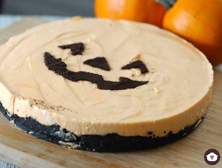Cheesecake de halloween