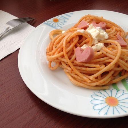 Espagueti coloradito