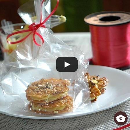 Touille de miel con ganache de chocolate explosivo
