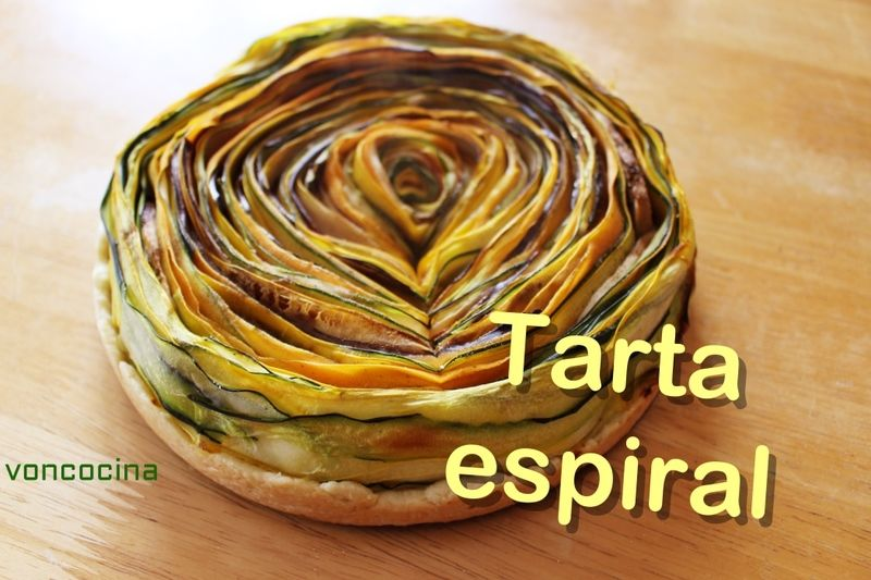 Espiral de verduras