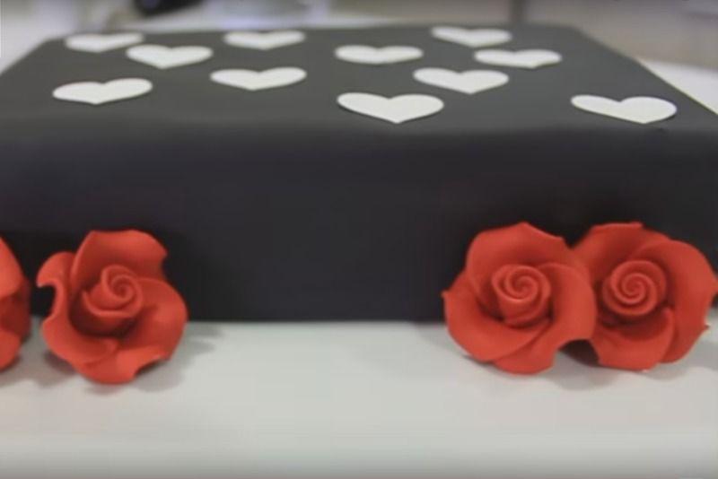 Decoración de pasteles con fondant