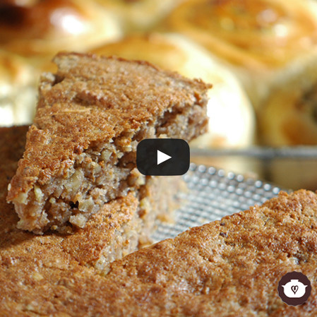 Pastel de castañas sin gluten