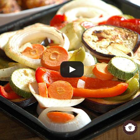 Verduras al horno