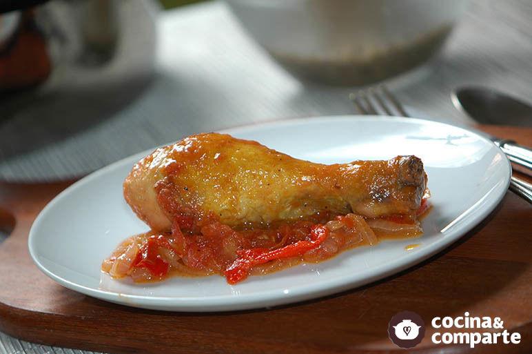 Pollo frito a la paprika
