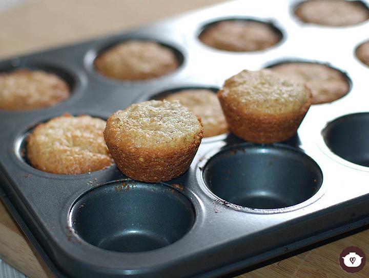 Mini cupcakes de almendra