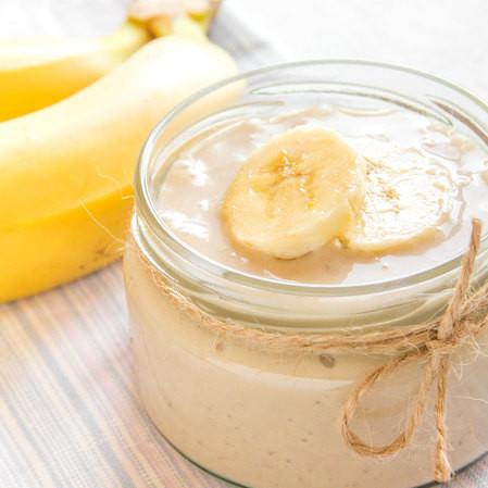 Natilla de plátano