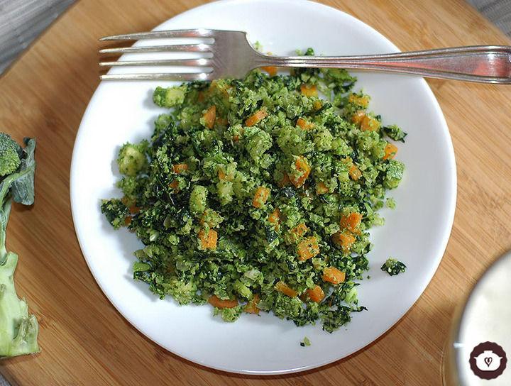 Arroz de brócoli