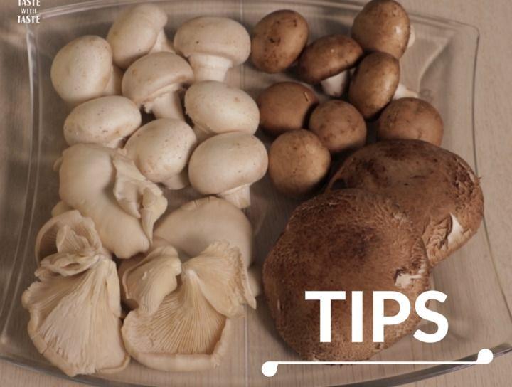 Tips de cocina ¿Cómo limpiar los champiñones?