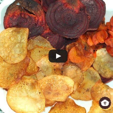 Chips de verduras