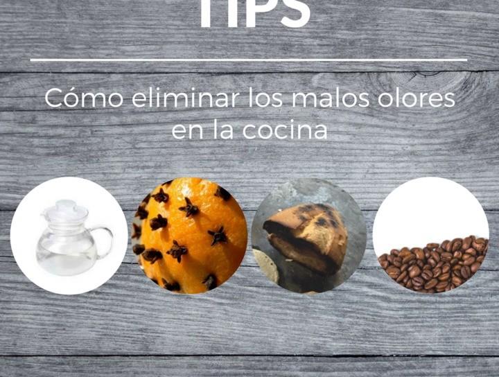 Tips de cocina ¿Cómo eliminar los malos olores en la cocina?