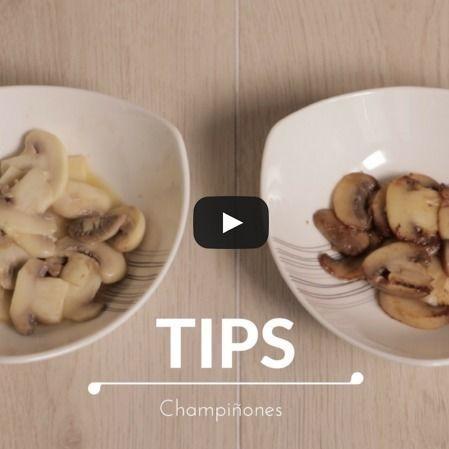 Tips de cocina ¿Cómo evitar que se oscurezcan los champiñones?