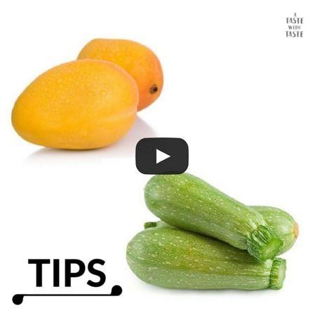 Tips de cocina - Trucos para mangos y calabacitas