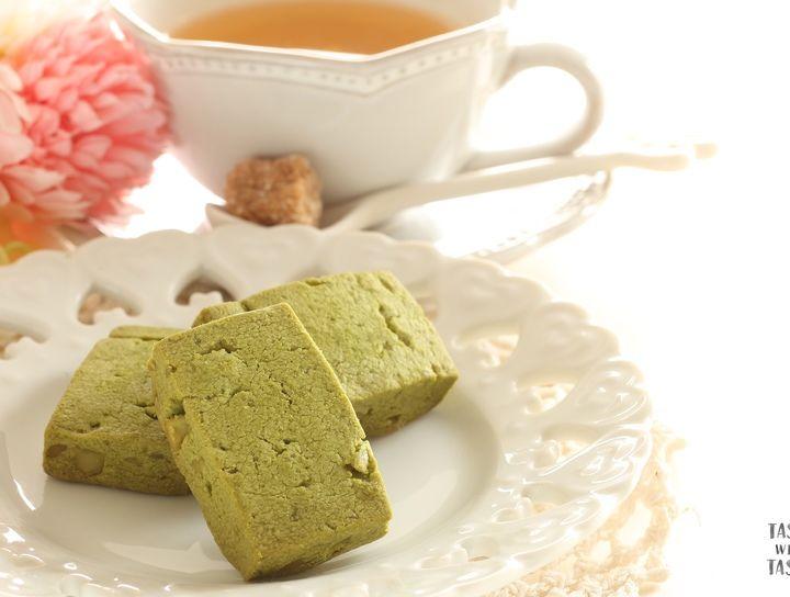 Panqué de té verde