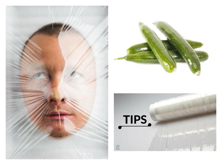 Tips de cocina.- Manipula el papel film como chef