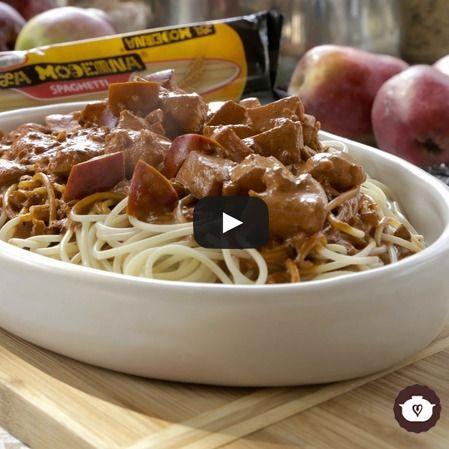 Spaghetti al chile ancho