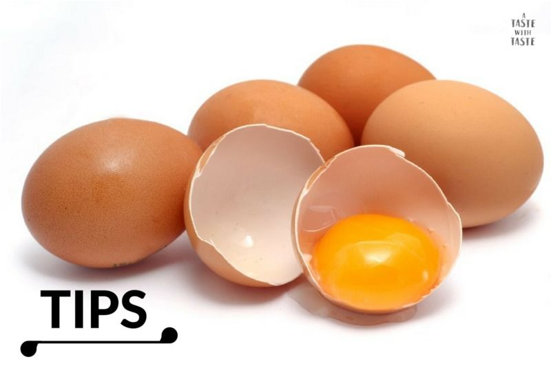 Tips de cocina.- Cómo saber si el huevo es fresco