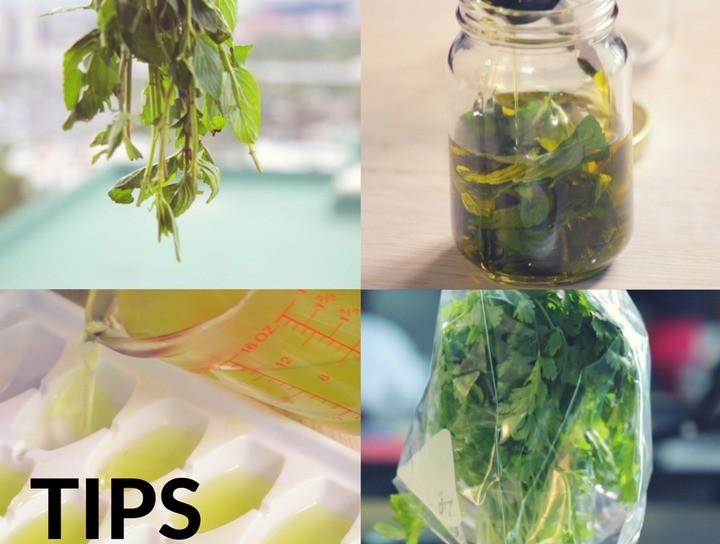 Tips de cocina.- Cómo conservar mejor hierbas aromáticas