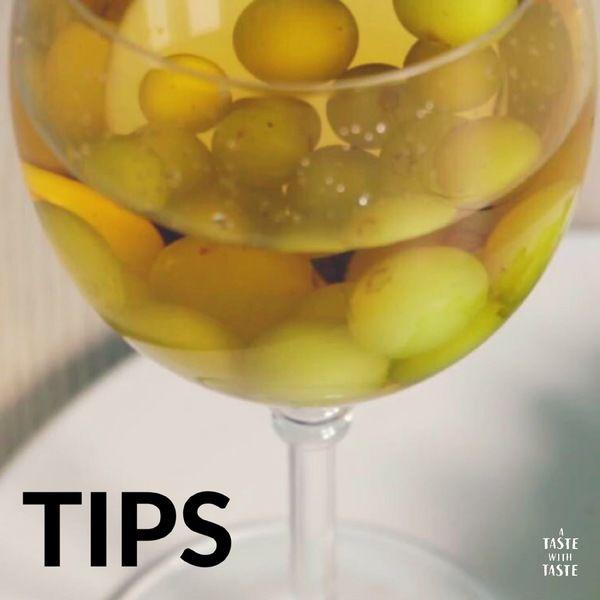 Tips de cocina.- Cómo conservar frío el vino blanco