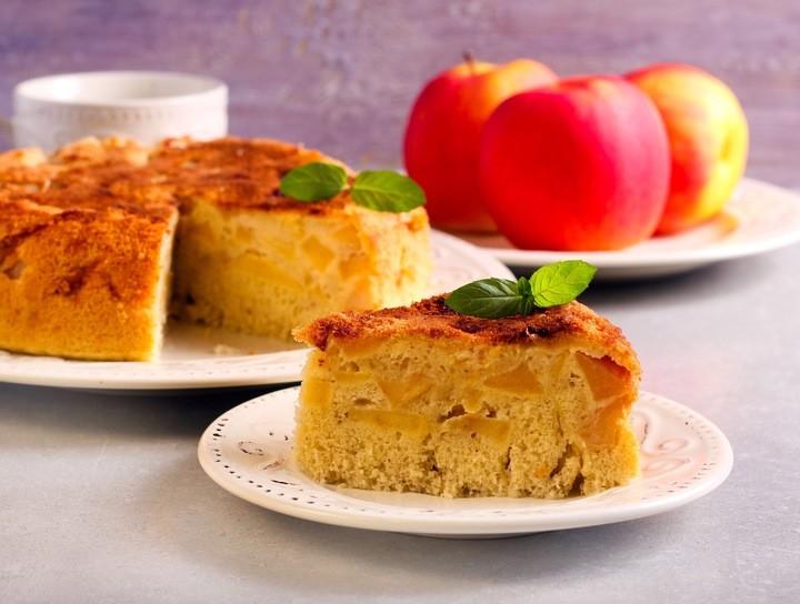Panqué de manzana con canela